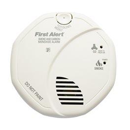 Combi détecteur de monoxyde de carbone et détecteur de fumée First Alert SCO5
